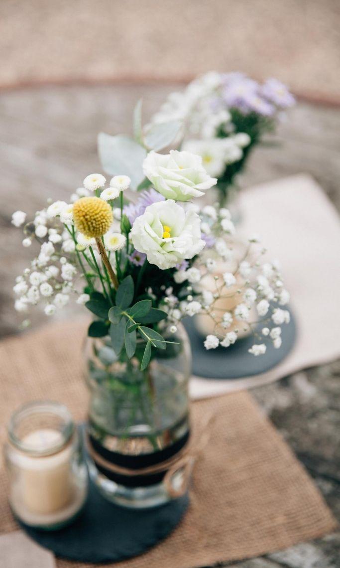 Tischdekoration Dekoration für Stehtische