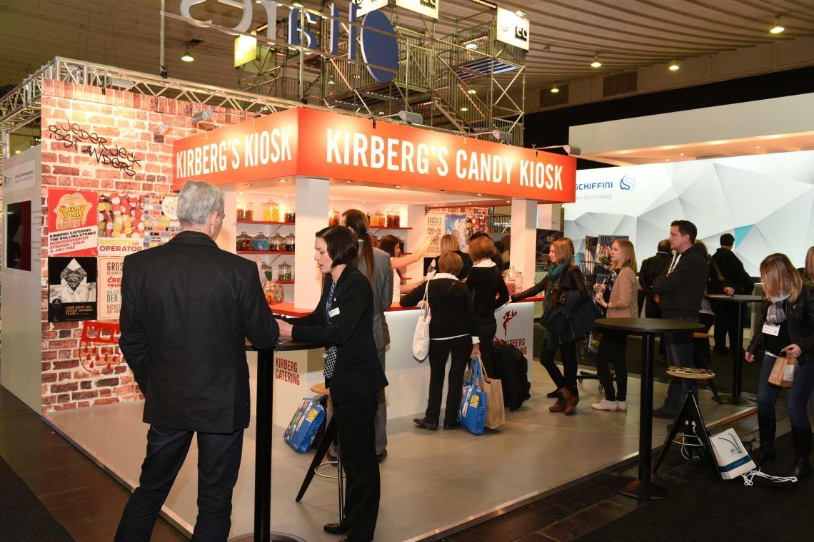 Messestandbau Umsetzung des Standbaus für unseren Kunden Kirberg Catering  - Foto by Fotografen Jan Kurz & Copyright by Kirberg GmbH -