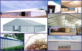 Lagerzelte Kurzfristige Überdachungen, Sicherheitsbereiche oder Großlager - kein Problem für unsere Lagerzelte. Unsere Lagerzelte gewährleisten Ihnen eine optimale Lösung für kurz- oder mittelfristigen zusätzlichen Raumbedarf.   Die schnelle Aufbauzeit, flexible Konstruktionen und das breite Einsatzspektrum sind in der Wirtschaftlichkeit kaum zu übertreffen. Die Lagerzelte können ohne Fundament sofort aufgebaut werden.  Ob Miete oder Kauf, das Jost-Lagerzelt ist sicherlich eine clevere Entscheidung.
