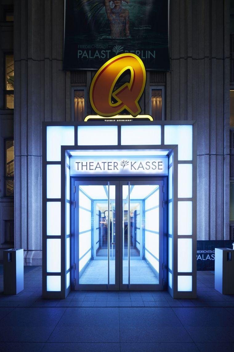 Eingang Quatsch Comedy Club