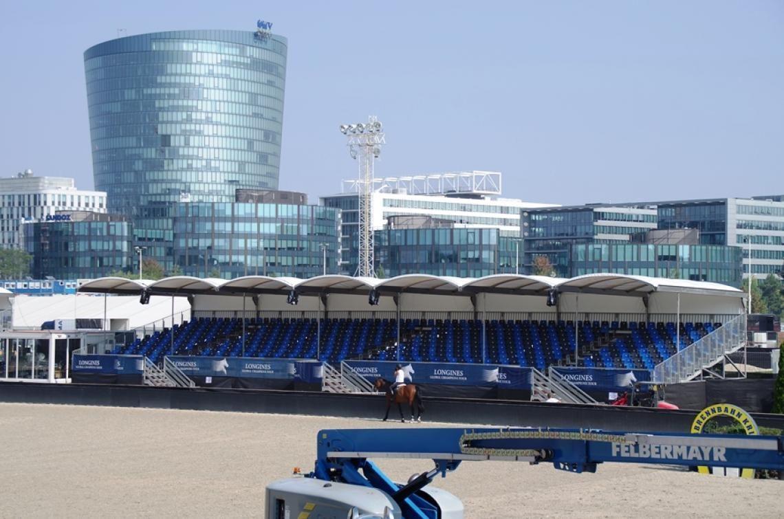 0 Überdachte Sitztribüne für Global Champions Tour in Wien