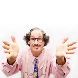 Ingo-Knito-Comedy, Comedy-Kellner Close-Up-Comedy & Comedy-Magic-Shows