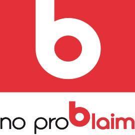 no problaim Werbeträger GmbH Slogan: Wir blasen auf - Sie fallen auf