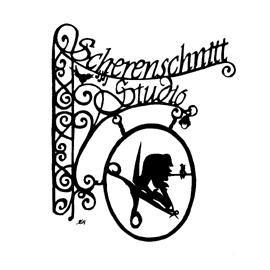 Scherenschnittkünstlerin Karin Dütz