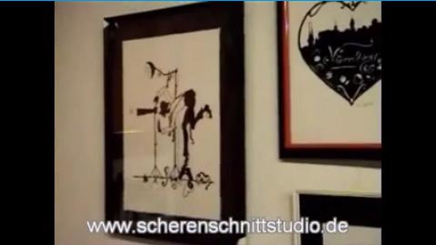 Video: Scherenschnitte mit Karin D�tz