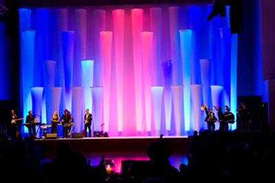 Bühnendekoration mit HELSINKI B Bühnendekoration mit HELSINKI B