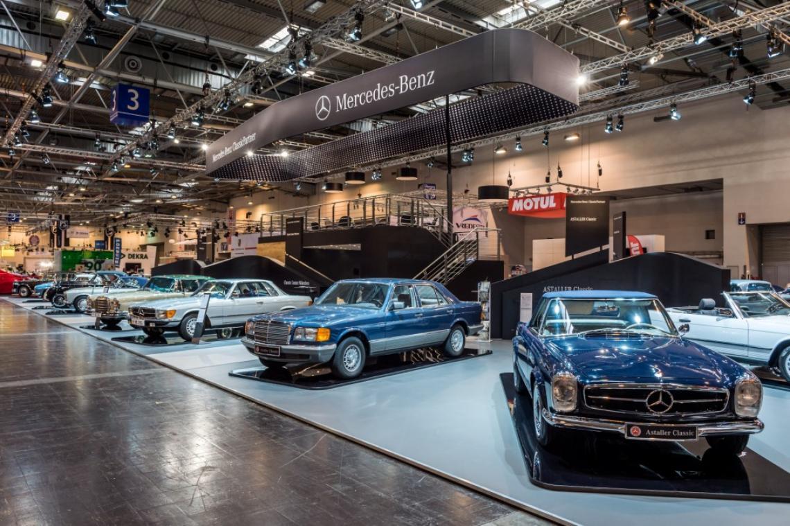 Techno Classica - Mercedes-Benz Banner Techno Classica - Mercedes-Benz Banner