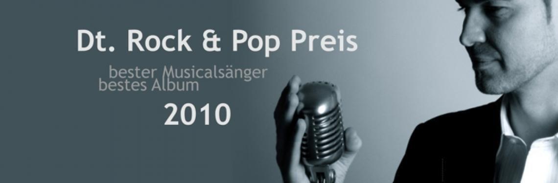"""2010:  2-fach Preisträger beim Dt. Rock & Pop Preis! 1.Preis als """"bester Musicalsänger"""" 2.Preis als """"bestes Album"""" (deutsch/ital)  ->    Passione - The Classical Lounge"""