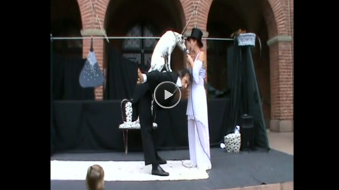 Video: Daniela&Marcello: CIRCO BLACK AND WHITE