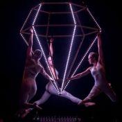 Flying Artwork Flying LED Diamond