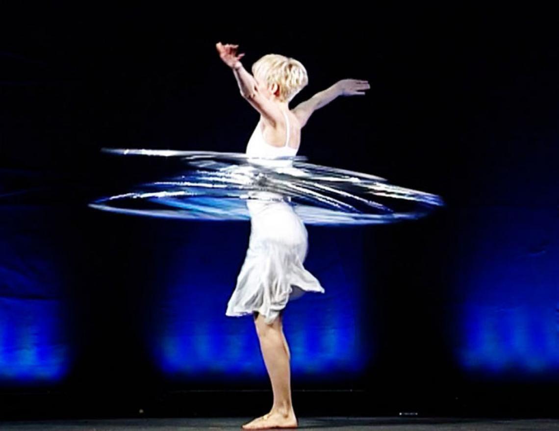 Andrea Engler | Hula Hoop Performance