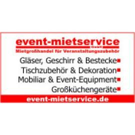 event-mietservice GmbH Mietgro�handel f�r Veranstaltungszubeh�r