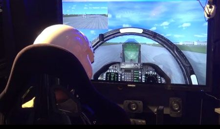 Full Motion Flight-Simulator