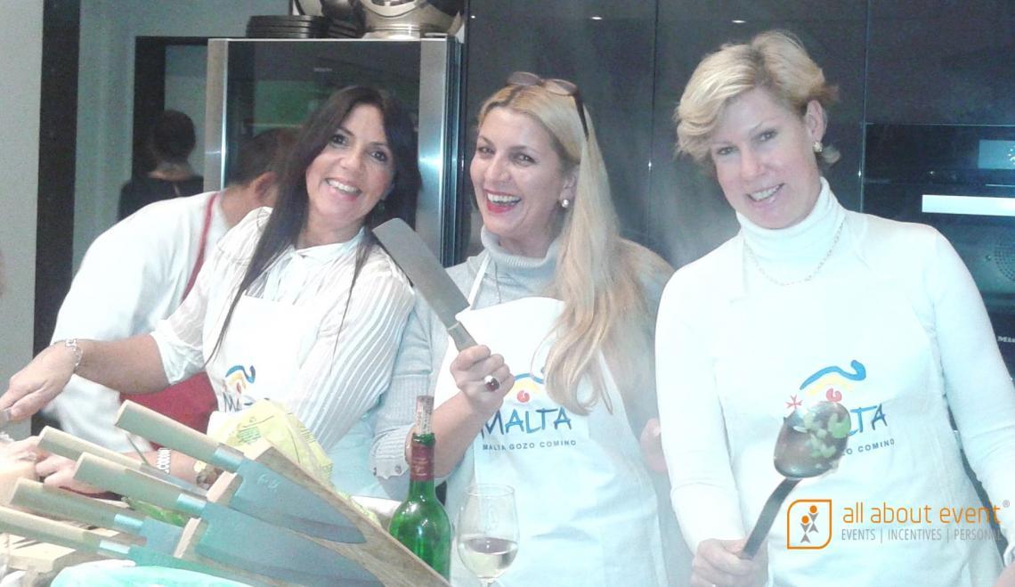 Incentive, Kochkurs, Teambuilding.    Ein kulinarischer Genuß. Ein Kochkurs für Ihre Mitarbeiter als besonderes Incentive-Event.