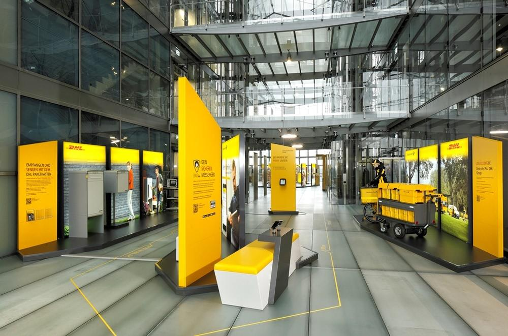 Dauerausstellung Level 3.0 | Deutsche Post DHL Group