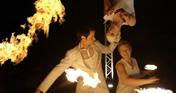 mosaique Feuershow und Walkact aus Berlin
