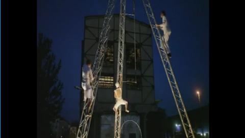 Video: mosaique - Feuerkunst und Artistik