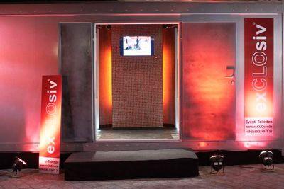 Mit den Event Toiletten sorgen Sie für ein rundum gelungenes Fest Mit den Event Toiletten von exCLOsiv® sorgen Sie für ein rundum gelungenes Fest. Ihre Besucher und Gäste werden es Ihnen danken.