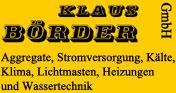 Klaus B�rder GmbH Niederlassung Hamburg