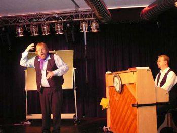 Erfahrungen als Schauspieler auf der Bühne Erfahrungen als Schauspieler auf der Bühne