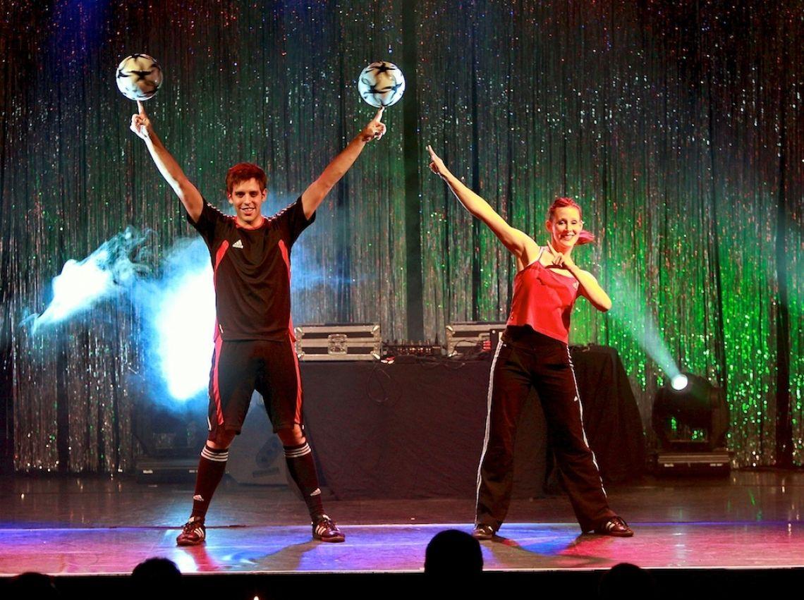 Die Fußballartisten - Duo Freestyle Show