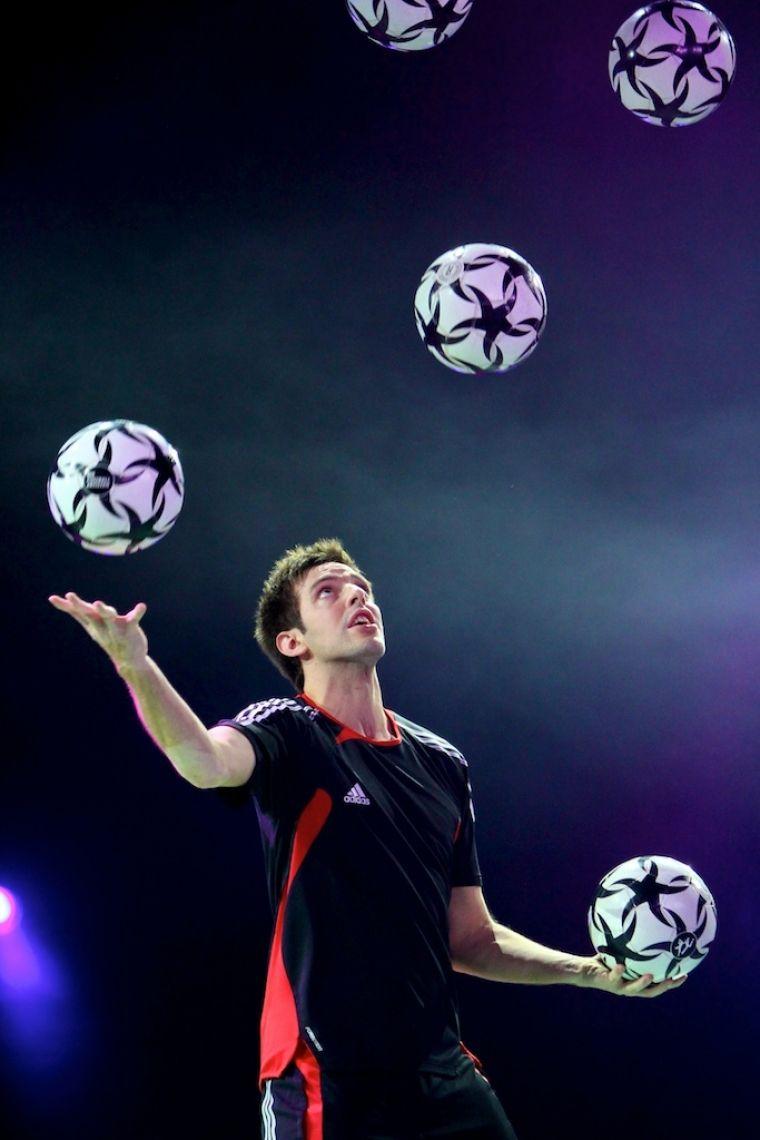 Sebastian Heller - Fußballjongleur