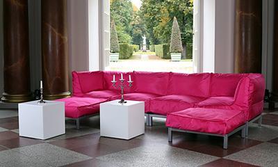 Loungeserie ViVA, viele Farben und outdoor-geeignet