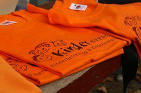 Proki Betreuer erkennen die Kids immer an den orangenen Shirts.