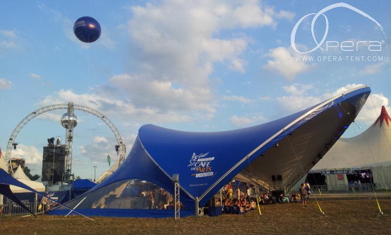 Markenauftritt beim Festival SonneMondSterne