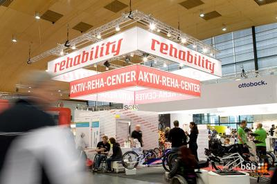 Rehability Messestand in Karlsruhe