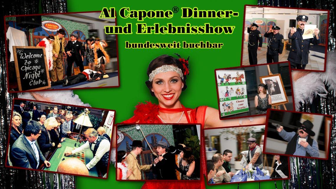 Al Capone Dinner- & Erlebnisshow +++ Capone + Comedy + Casino +++
