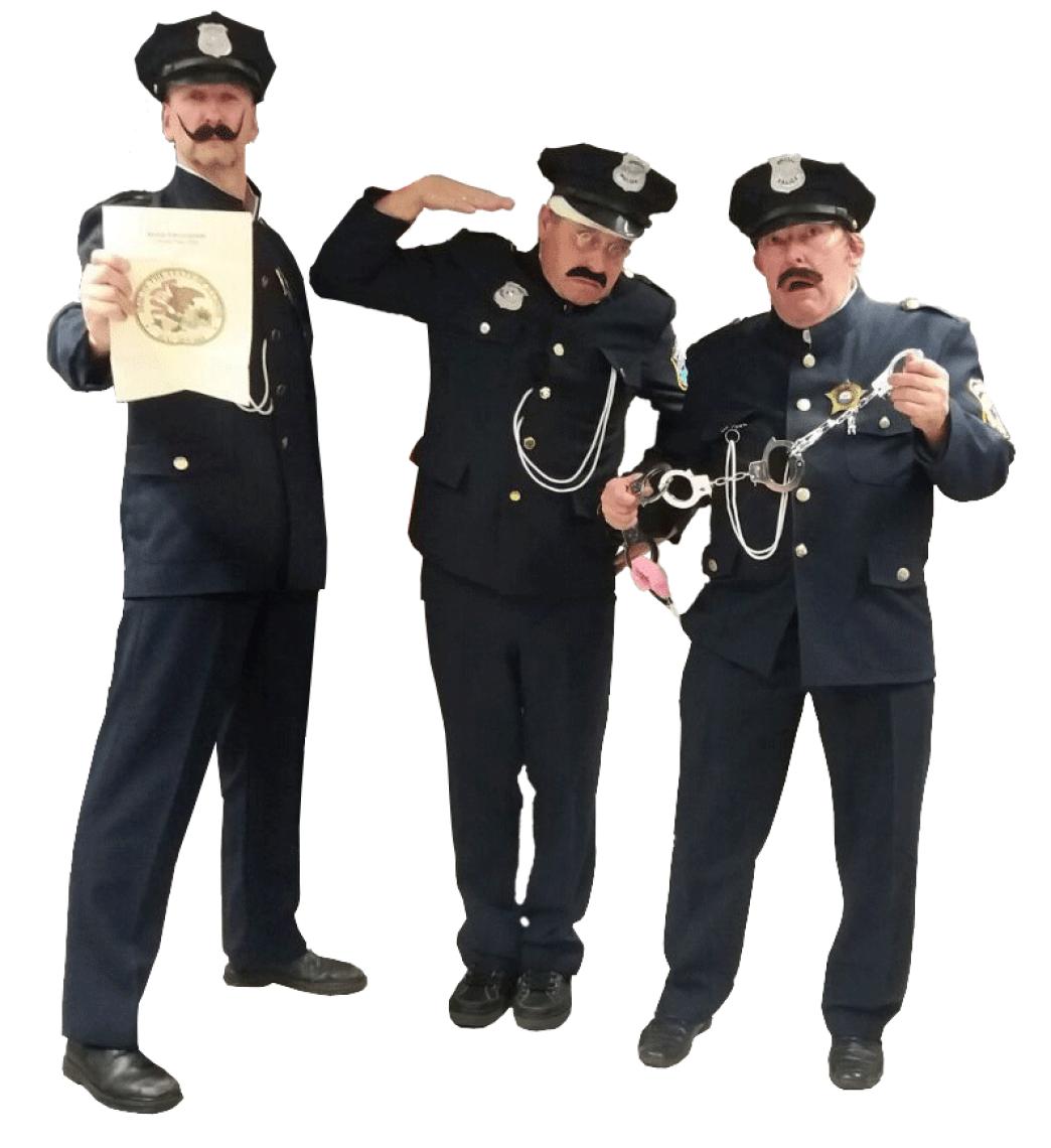 Die Razzia wird ein chaotischer Spass Die fähigsten Police Officers Chicagos sind angesetzt, Al Capone illegales Glückspiel und Alkoholschmuggel nachzuweisen und werden den Night Club stürmen... Ob sie wohl bestechlich sind?