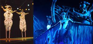 Bühnen-Shows - Für Gala, Event, Varieté <br> - Stelzen Acts der besonderen Art <br> - Für Bühne oder Aktionsfläche <br> - Tolle Musik, starke Bilder
