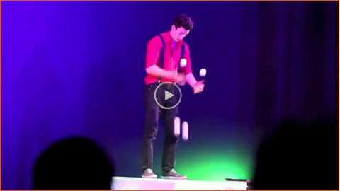 Video: Bounce Juggling Act
