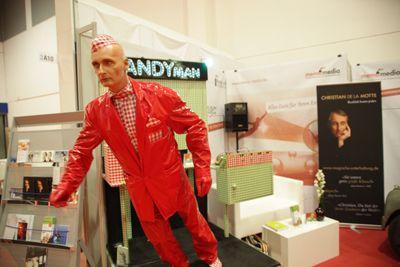 Der Candy Man verblüfft mit seiner Steillage.
