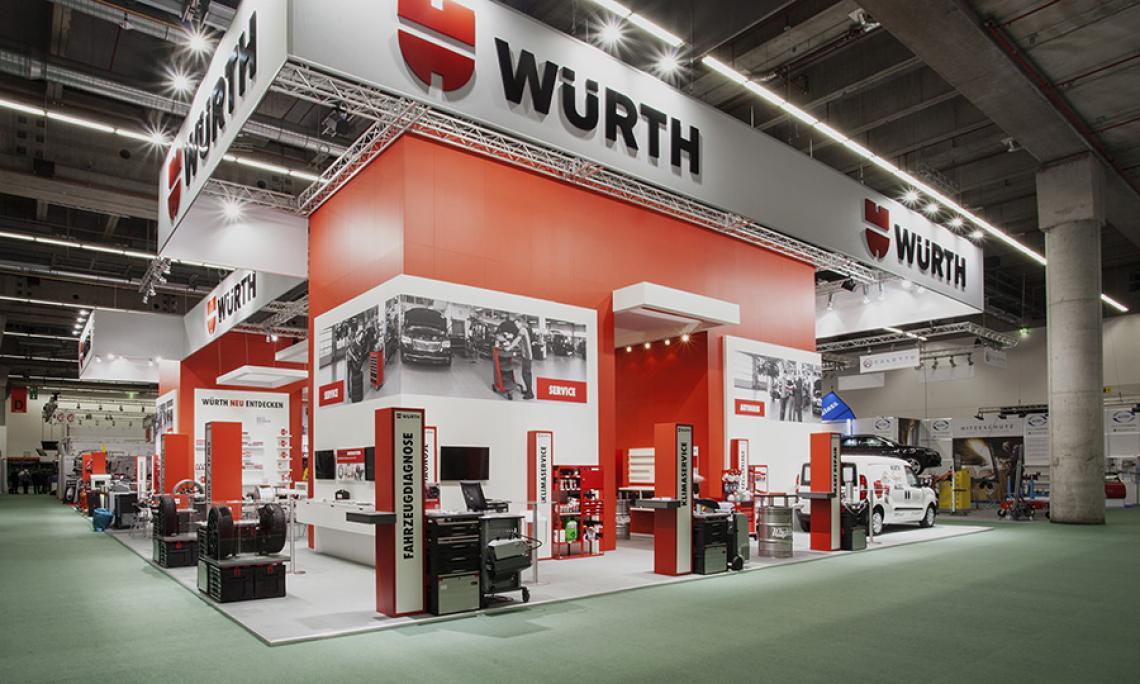 AUTOMECHANICA Frankfurt |  Medientechnik, Ton, Touchdisplays