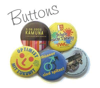 """Buttons Sie wollen Ihre Werbebotschaft möglichst """"ansteckend"""" rüberbringen? Mit Buttons von BLITZBUTTON bieten wir Ihnen die ideale Lösung."""
