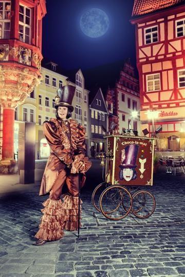 Monsieur Chocolat – Chocotainment mit Gaumenanimation
