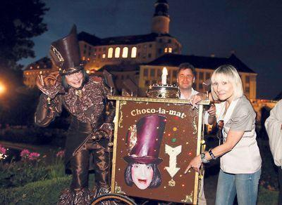 Monsieur Chocolat verzaubert die Zuschauer
