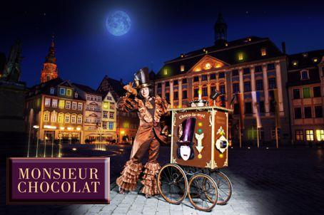 Monsieur Chocolat auf der Nacht der Sinne