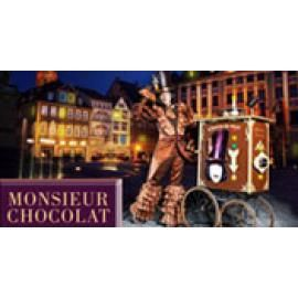 Monsieur Chocolat � Der Premium-Walk-Act �Chocotainment mit Gaumenanimation�