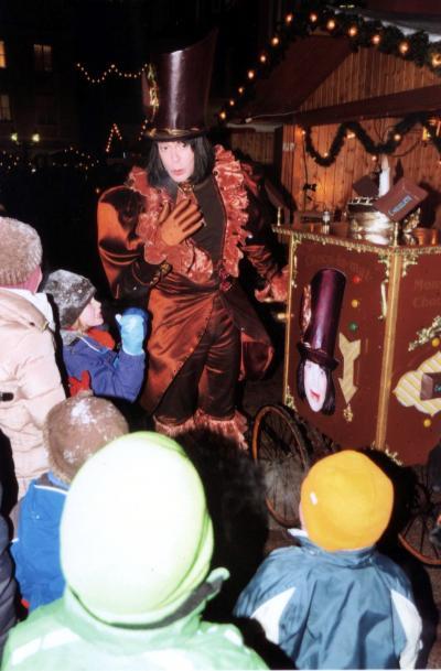 Monsieur Chocolat lässt Kinderherzen höher schlagen