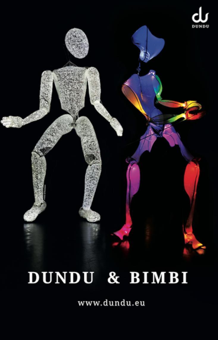 DUNDU & BIMBI - Giganten des Lichts und der Liebe DUNDU begeistert und trifft seine Freundin - jetzt kommt Farbe ins Spiel