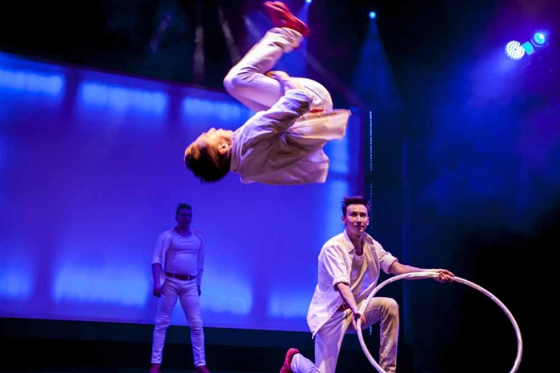 JUMP'N' ROLL | SPRUNGSTELZEN & HOOP-DIVING Die Moskauer Viktor, Egor, Evgeny und Alexander öffnen jedem die Augen dafür, zu was ein Körper mit der richtigen Portion Kreativität imstande ist.