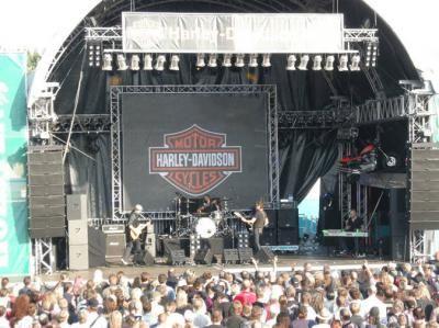 Harley Davidson Veranstaltung