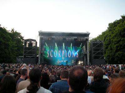 Scorpions Konzert