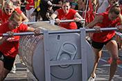 225 Kilo, 25 Meter, 3 Sieger-Teams
