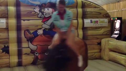 Video: Happy Rent: Rodeo und Bullriding mieten