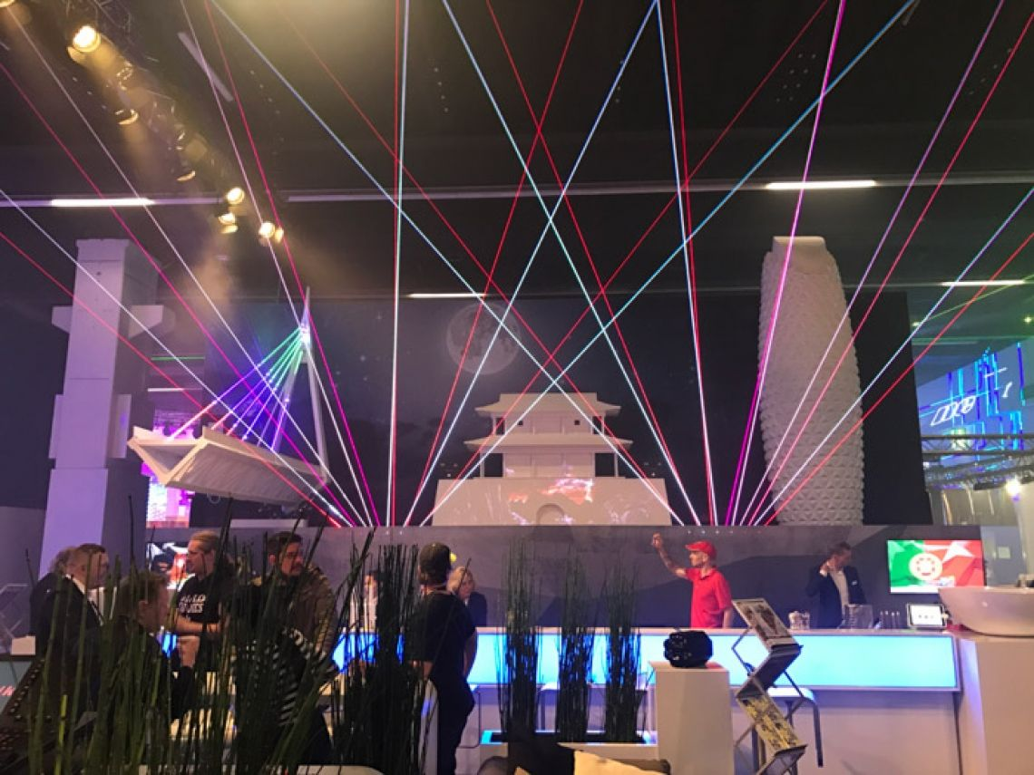 Laserworld Prolight+Sound 2017 Der Laserworld-Stand auf der Prolight+Sound 2017 in Frankfurt