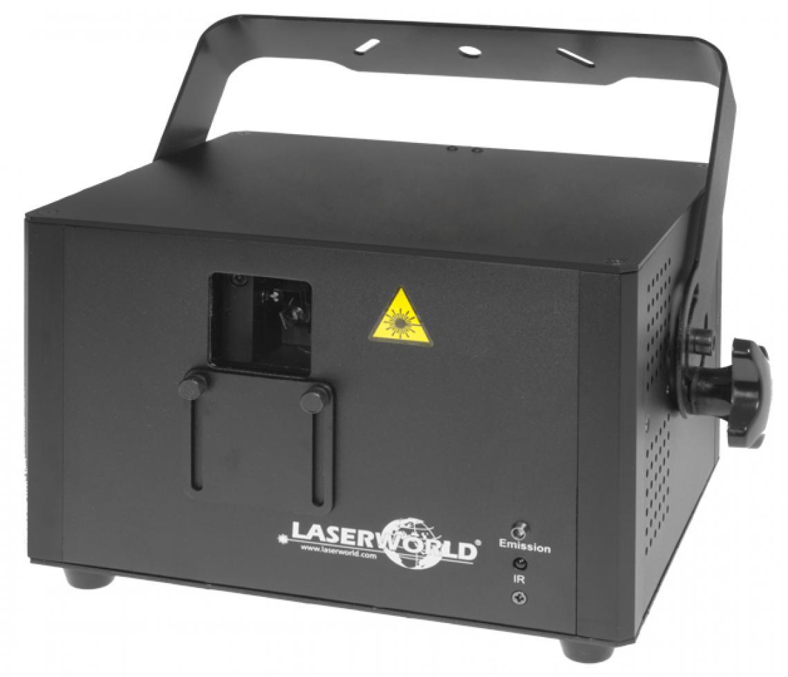 Laserworld Proline Serie - leistungstark, kompakt und vielseitig Bei der Proline Serie werden zwei Leistungsklassen im RGB-Bereich angeboten - der Laserworld PRO-800RGB mit einer Gesamtleistung von bis zu 800 mW und der Laserworld PRO-1600RGB mit einer Gesamtleistung von bis 1'600 mW. Die Geräte der Laserworld Proline Serie sind mit einem besonders gut sichtbare Rot mit 637nm ausgestattet, das die Gesamtsichtbarkeit deutlich erhöht. Das kompakte Gehäuse und das geringe Gewicht machen die Systeme ideal für den Einsatz in Nachtclubs, Bars oder für mobile DJs. Aufgrund der Kompaktheit und Vielseitigkeit eignen sich diese Laser auch sehr gut für den Verleih. Die Laserworld Proline Serie ist günstig und leistungsstark zugleich und die optimale Mitte zwischen der Club Serie und der Diode Serie.